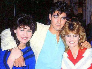 Lisa Whelchel and george clooney