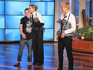 Madonna Dunks Son Rocco After He Says She&#39;s Strict | Ellen DeGeneres, Madonna