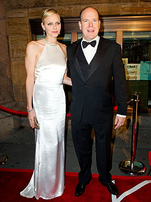 Prince Albert, Princess Charlene Have Date Night in Manhattan