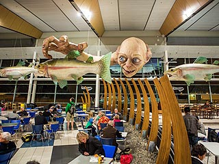 Gollum Has a New Role: Official Airport Greeter (VIDEO)