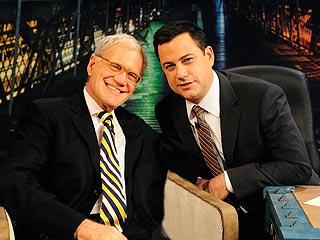 Jimmy Kimmel Realizes Dream of Interviewing His Idol, David Letterman