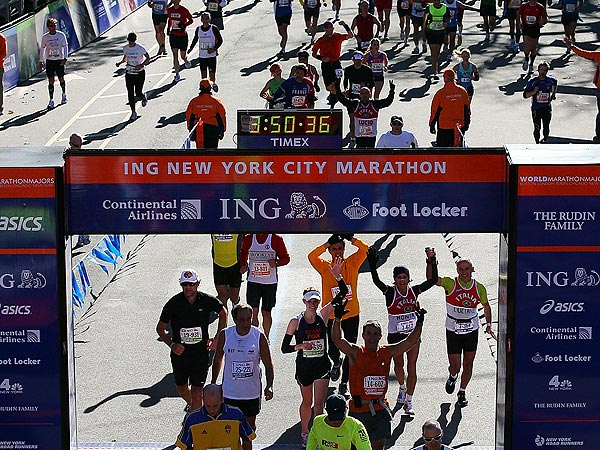 Bloomberg Cancels NYC Marathon