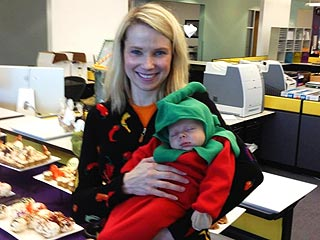 Awww-dorable! Meet Yahoo CEO Marissa Mayer's Son