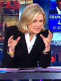 Twitter Users Wonder: What Was Wrong with Diane Sawyer on Election Night? | Diane Sawyer