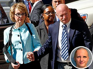 Gabrielle Giffords & Husband Face Her Shooter at Sentencing Hearing