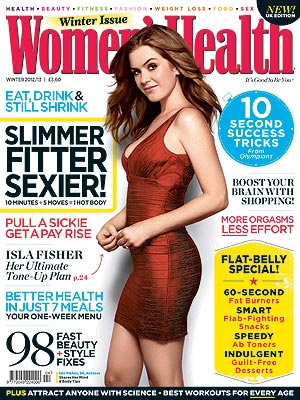Isla Fisher's Stay-Fit Secrets: Breastfeeding and Spanx| Bodywatch, Isla Fisher, Sacha Baron Cohen
