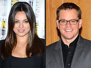 Mila & Matt Get Political in New Projects (Plus More Casting News!) | Matt Damon, Mila Kunis