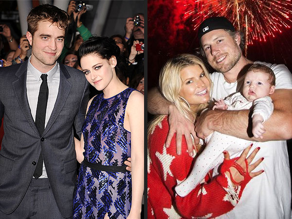 Top 10 Celebrity Stories of 2012 | Eric Johnson, Jessica Simpson, Kristen Stewart, Robert Pattinson