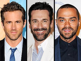 POLL: Who Rocks the Sexiest Scruff? | Jesse Williams, Jon Hamm, Ryan Reynolds