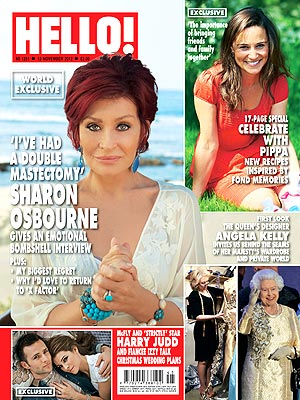 Sharon Osbourne: I've Had a Double Mastectomy| Health, Sharon Osbourne