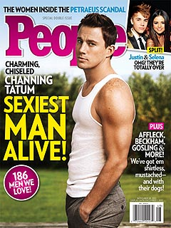 Channing Tatum Is PEOPLE's Sexiest Man Alive! | Channing Tatum
