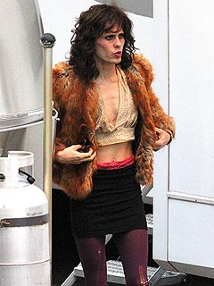 PHOTO: Jared Leto Rocks a New Look &#8211; As &#39;80s Cross-Dresser | Jared Leto