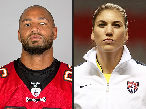 Hope Solo's Fiance Jerramy Stevens Arrested