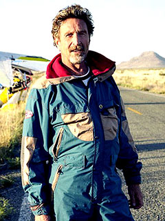 Anti-virus Software Millionaire John McAfee: I'm Innocent of Murder