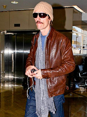 Matthew McConaughey Weight Loss Picture; Actor Dreaming of Cheeseburger