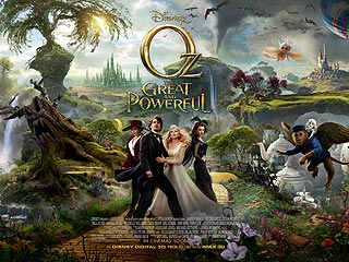 Mila Kunis & James Franco Dazzle in Oz The Great and Powerful Trailer