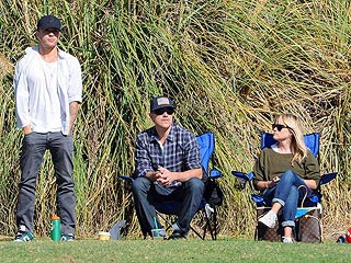 Reese, Jim & Ryan: One Big Happy Family at Soccer Game | Jim Toth, Reese Witherspoon, Ryan Phillippe