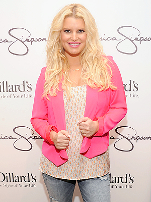 Post-Baby Jessica Simpson: 60 Lbs. Slimmer