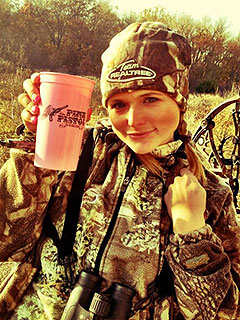 Miranda Lambert Channels Katniss on a Thanksgiving Hunting Spree | Miranda Lambert