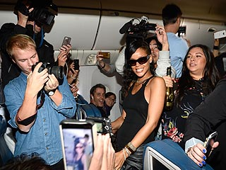 Rihanna&#39;s Tour Has Been Bumpy for Guests on Her Jet | Rihanna