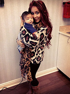 Snooki Celebrates 25th Birthday with Her 'Favorite Gift' – Son Lorenzo | Nicole Polizzi