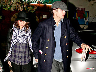 PHOTO: Ashton & Mila Step Out Again in Rome | Ashton Kutcher, Mila Kunis