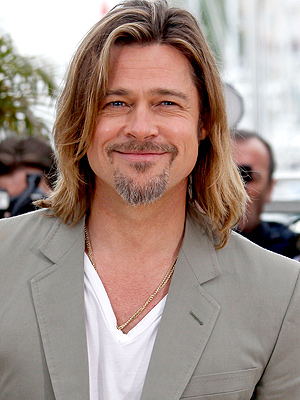 Brad Pitt Spent Thanksgiving in London on Set