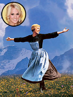 Will Carrie Underwood Bring Country Twang to The Sound of Music? | Carrie Underwood, Julie Andrews