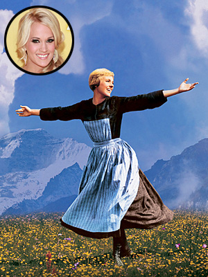 Carrie Underwood to Star as Maria von Trapp on TV's The Sound of Music | Carrie Underwood, Julie Andrews