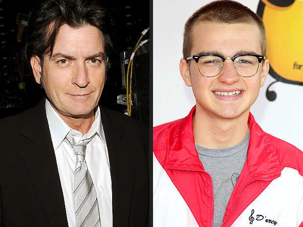 Two and a Half Men - Charlie Sheen Speaks Out About Angus T. Jones