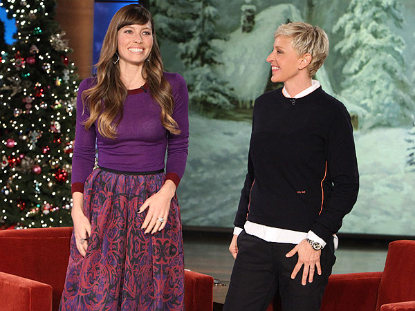 Jessica Tell Ellen DeGeneres about Marriage to Justin Timberlake