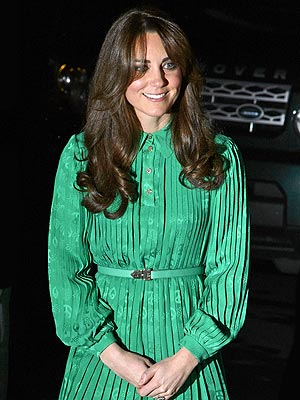 Kate Debuts '70s-Inspired New Look During Night Out in London