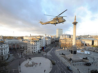 Tom Cruise Shuts Down Central London | Tom Cruise