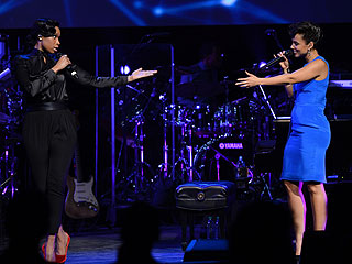 Alicia Keys (Almost) Gets Auctioned Off in N.Y.C.