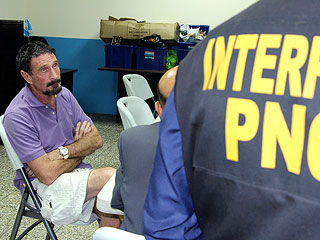 Anti-virus Software Millionaire John McAfee Arrested in Guatemala | John McAfee