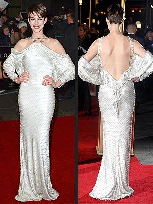 Anne Hathaway Les Mis Premiere