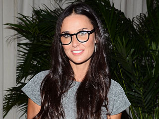 Wow! Demi Moore Dances Up a Storm in Miami | Demi Moore, Lenny Kravitz, Stacy Keibler