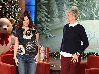 Why Drew Barrymore Named Her Daughter Olive (and Not Kidney Bean) | Drew Barrymore, Ellen DeGeneres