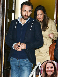 Pippa Visits Pregnant Kate in Hospital | James Middleton, Pippa Middleton