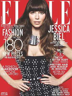 Jessica Biel ELLE Cover