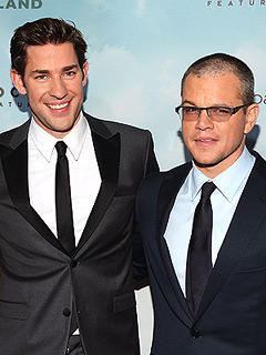 John Krasinski Really (Really!) Wants a Bromance with Matt Damon | John Krasinski, Matt Damon