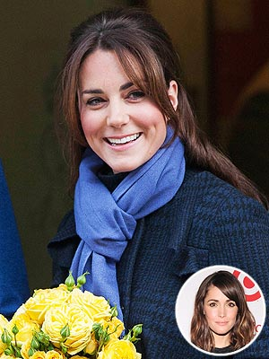 Duchess of Cambridge, Rose Byrne Bangs