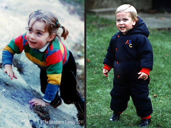 Throwback! Comparing Prince George to Baby Pics of Kate & Prince William| Kate Middleton, Prince George, Prince William
