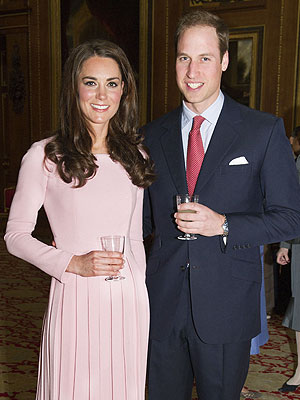 Prince William and Kate Lunch with the Royal Family