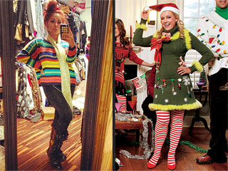 See Melissa Joan Hart, Snooki & More in Ugly Christmas Sweaters!