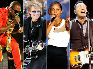 Eric Clapton, Bruce Springsteen Rocked Out, Raised Money at Sandy Relief Concert | Alicia Keys, Kanye West