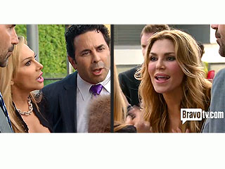 Adrienne Maloof Lashes Back: Brandi Glanville 'Crossed the Line'