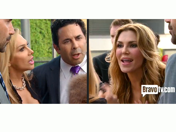 Adrienne Maloof: Brandi Glanville &#39;Crossed the Line&#39;