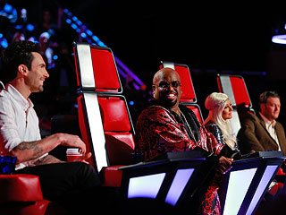 The Voice: Cee Lo Green Flirts as Blind Auditions Wind Up