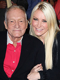 What Did Crystal Harris Get Hugh Hefner for His 87th Birthday?